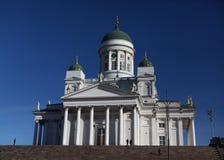Cattedrale di Helsinky Helsinki, Finlandia Immagini Stock Libere da Diritti