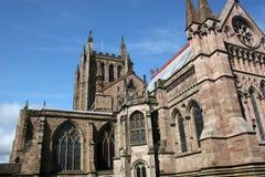 Cattedrale di Hereford Fotografie Stock Libere da Diritti