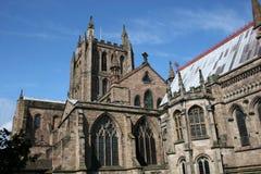 Cattedrale di Hereford Immagine Stock