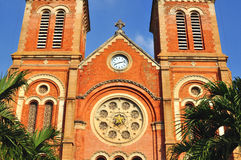 Cattedrale di Ho Chi Minh, Fotografia Stock Libera da Diritti