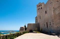 Cattedrale di Ibiza Immagine Stock Libera da Diritti