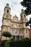 Cattedrale di Innsbruck di St James, Austria Immagine Stock