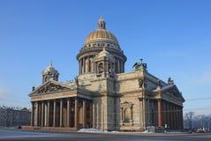 Cattedrale di Isaacâs del san fotografia stock libera da diritti
