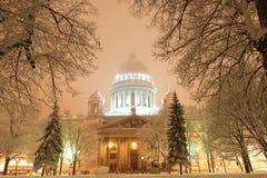 Cattedrale di Isaac del San-Petersbug immagini stock