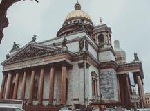 Cattedrale di Isaacs Immagine Stock Libera da Diritti