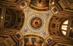 Cattedrale di Isaak del san. Fotografie Stock