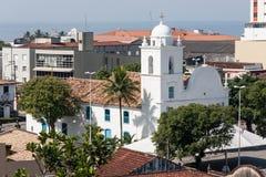 Cattedrale di Itanhaem Fotografia Stock