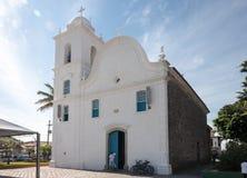Cattedrale di Itanhaem Fotografie Stock Libere da Diritti