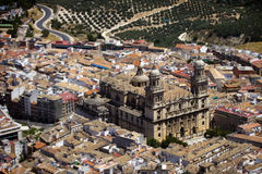 Cattedrale di Jaén Fotografie Stock Libere da Diritti