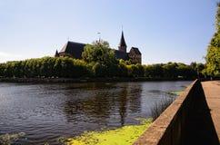 Cattedrale di Königsberg a Kaliningrad, Russia Fotografie Stock Libere da Diritti