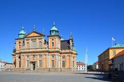 Cattedrale di Kalmar Fotografia Stock