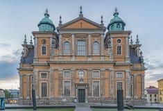 Cattedrale di Kalmar in Svezia Immagini Stock