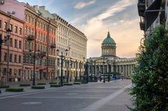Cattedrale di Kazan Fotografia Stock
