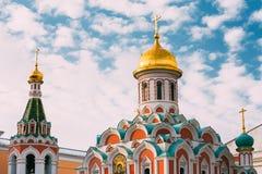 Cattedrale di Kazan a Mosca, Russia Fotografia Stock