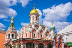 Cattedrale di Kazan sul quadrato rosso, Mosca, Russia Fotografia Stock