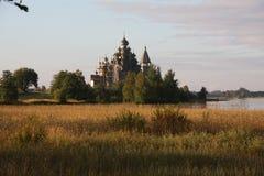 Cattedrale di Kizhi Fotografia Stock