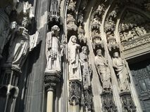 Cattedrale di Koln Fotografia Stock Libera da Diritti
