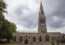 Cattedrale di Leicester Fotografia Stock Libera da Diritti