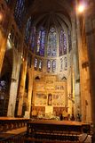 Cattedrale di Leon, Spagna Fotografie Stock Libere da Diritti