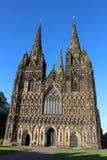 Cattedrale di Lichfield, Lichfield, Staffordshire fotografia stock libera da diritti