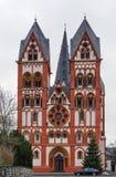 Cattedrale di Limburgo, Germania fotografia stock libera da diritti
