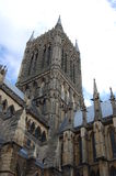 Cattedrale di Lincoln Fotografia Stock