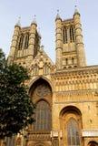 Cattedrale di Lincoln Fotografia Stock Libera da Diritti