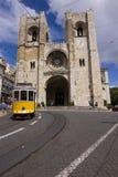 Cattedrale di Lisbona Immagini Stock