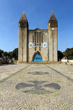 Cattedrale di Lubango, Angola Immagine Stock Libera da Diritti