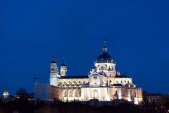 Cattedrale di Madrid Immagine Stock