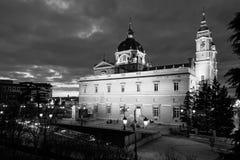 Cattedrale di Madrid Fotografie Stock