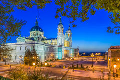 Cattedrale di Madrid, Spagna Immagini Stock Libere da Diritti