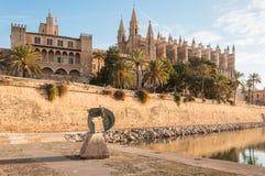Cattedrale di Maiorca in Spagna Fotografia Stock Libera da Diritti
