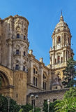 Cattedrale di Malaga, Spagna Fotografia Stock Libera da Diritti