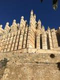Cattedrale di Mallorca Immagini Stock Libere da Diritti