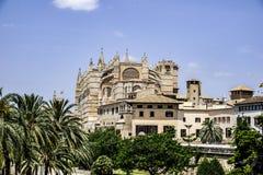 Cattedrale di Mallorca prespective Fotografia Stock