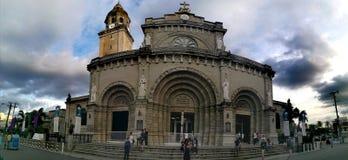 Cattedrale di Manila dentro intra muros fotografie stock libere da diritti
