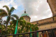 Cattedrale di Manila, intra muros, Manila, Filippine Fotografia Stock