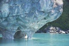 Cattedrale di marmo, generale Carrera Lake, Cile Fotografia Stock