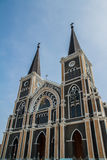 Cattedrale di Mary Immaculate Conception, Chanthaburi Immagini Stock