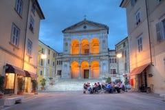 Cattedrale di Massa, Italia Fotografie Stock