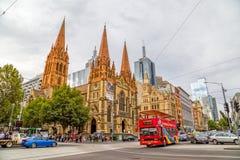 Cattedrale di Melbourne StPaul Fotografia Stock Libera da Diritti