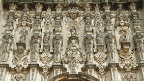 Cattedrale di Messico City X Fotografia Stock
