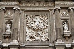 Cattedrale di Messico City XVIII Immagine Stock Libera da Diritti