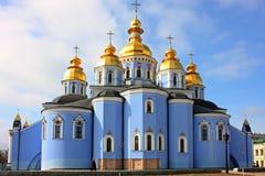 Cattedrale di Mikchailovcskyi Immagini Stock