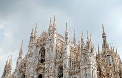 Cattedrale di Milano Fotografie Stock