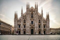 Cattedrale di Milano, Italia Immagini Stock