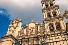 Cattedrale di Monterrey Messico fotografia stock libera da diritti