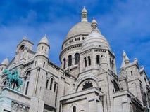 Cattedrale di Montmartre - Parigi Immagini Stock