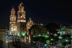 Cattedrale di Morelia immagine stock libera da diritti